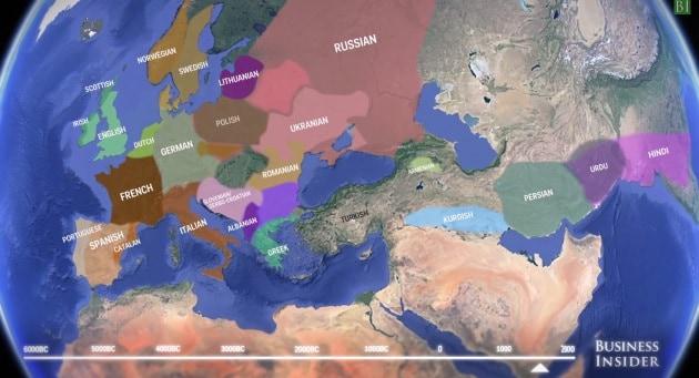 L'origine delle lingue indoeuropee