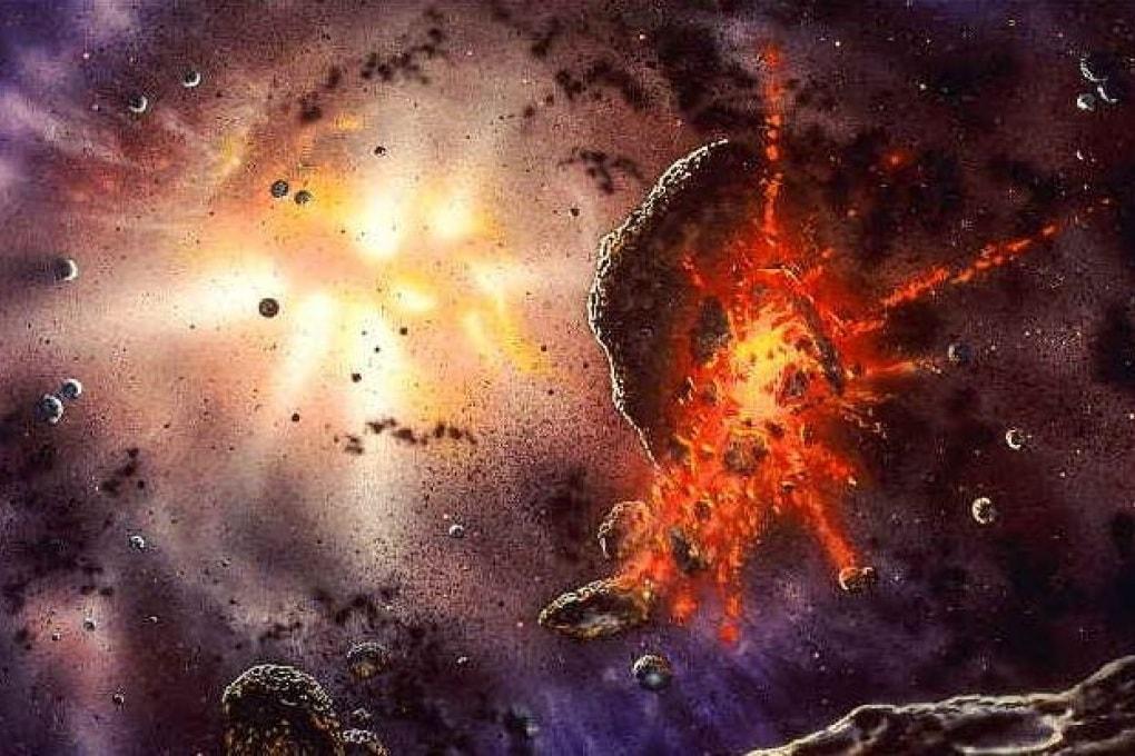 L'origine violenta del Sistema Solare