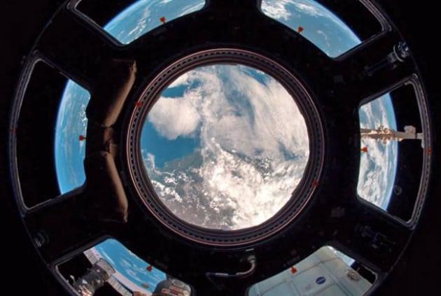 Il mondo oltre la Cupola della ISS