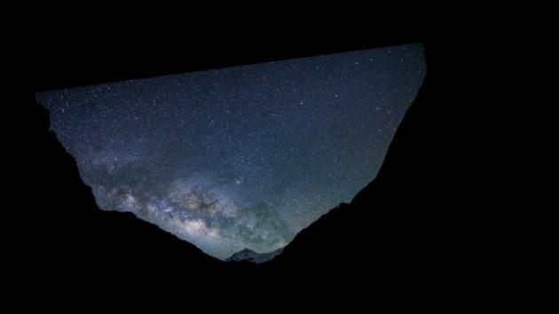 Il video che mostra la rotazione terrestre