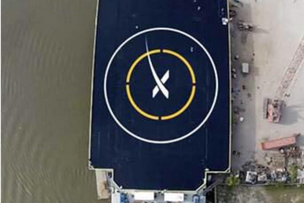 Lo spazioporto galleggiante per la Space X