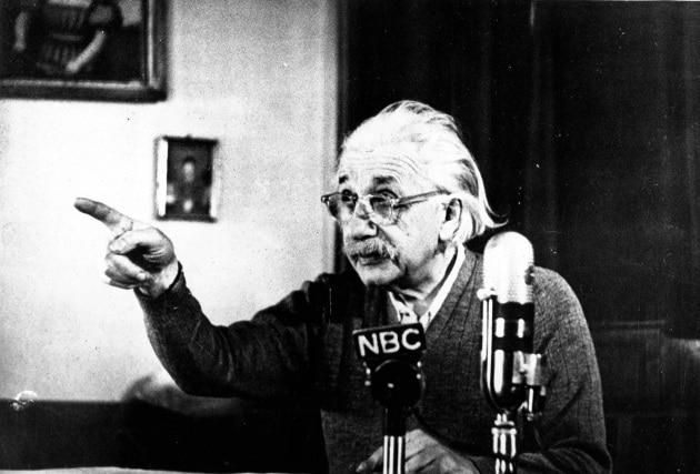 Chi l'ha detto? Einstein, o qualcun altro?