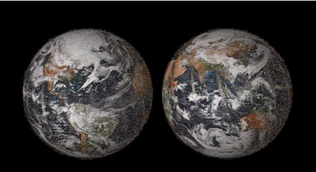 La Terra in 36.422 selfie: il mosaico della Nasa