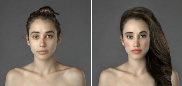 La bellezza ideale ai tempi di Photoshop