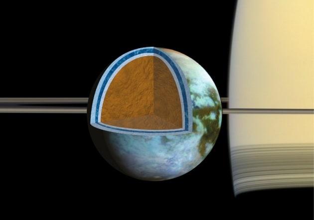 L'oceano di Titano è salato come il Mar Morto