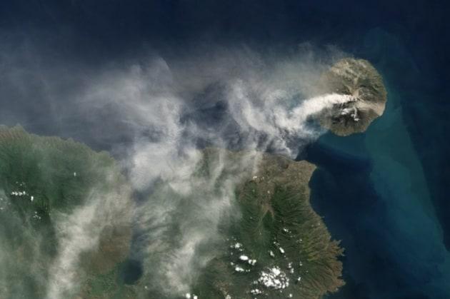 Spettacoli della Terra visti dal satellite