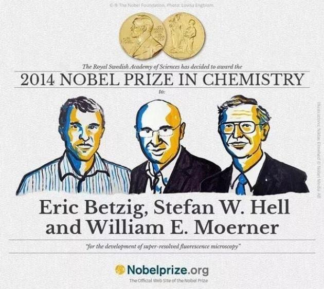 Il Nobel per la Chimica 2014 ai padri della nanoscopia