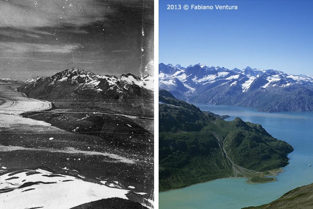 Come svanisce un ghiacciaio