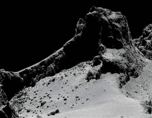 La cometa 67P sulla copertina di Science