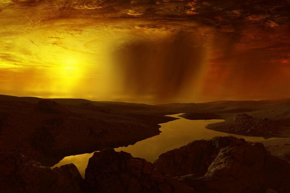 Una gigantesca nube tossica su Titano