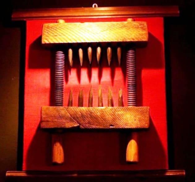 Tortura nel passato: le macchine del dolore