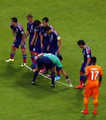 Cosa contengono le bombolette spray usate dagli arbitri di calcio?