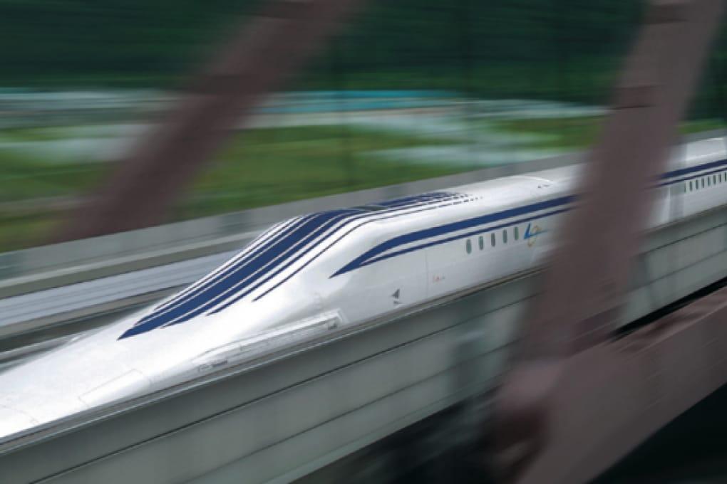 In viaggio sul nuovo maglev giapponese