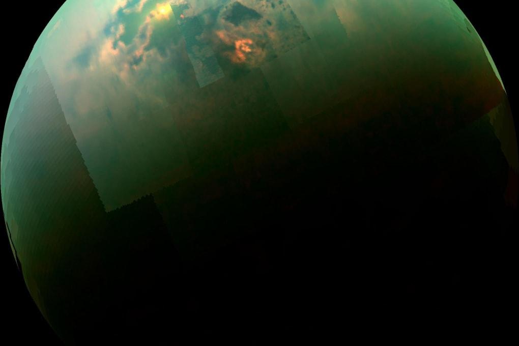 Titano, un mondo surgelato ma molto dinamico