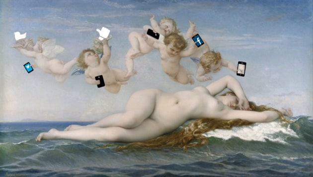 Dipinti storici con iPhone e iPad