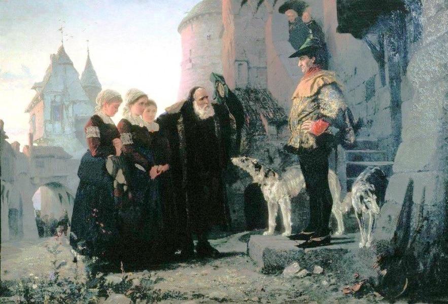 le_droit_du_seigneur_by_vasiliy_polenov1874
