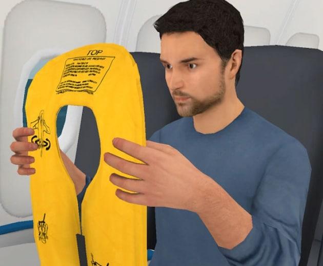Life Vest, l'App che ti salva la vita in aereo