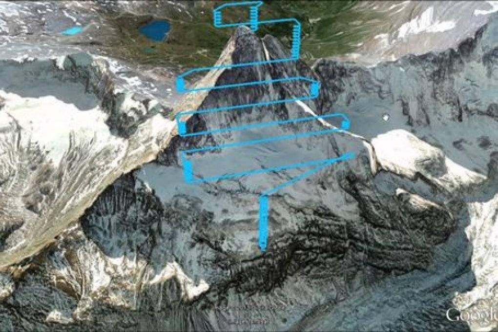 Il Cervino in 3D grazie ai droni svizzeri