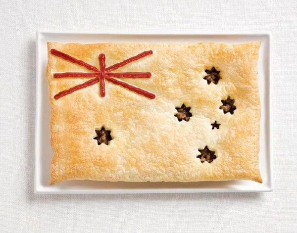 2australia-flag-made-from-food