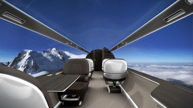 IXION, l'aereo senza finestrini