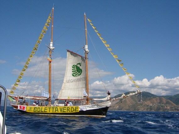 Goletta Verde, Legambiente, Mediterraneo, plastica in mare