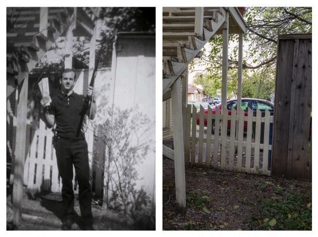 JFK, la scena del crimine ieri e oggi. Foto a confronto