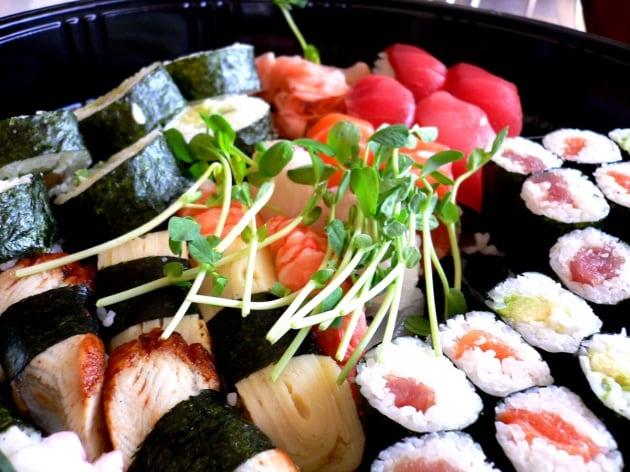 Sushi antincendio? Colpa della plastica