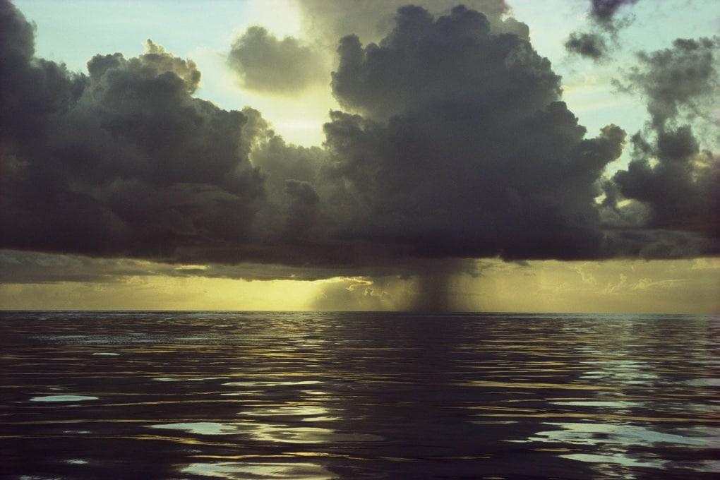 Il camino globale sull'oceano