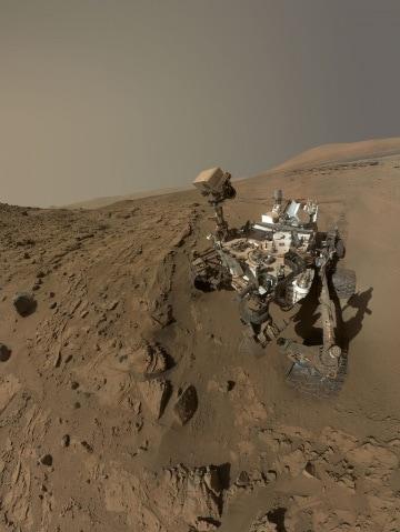 Selfie da Marte