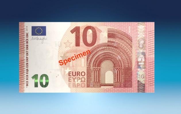 10 euro: come nasce la nuova banconota