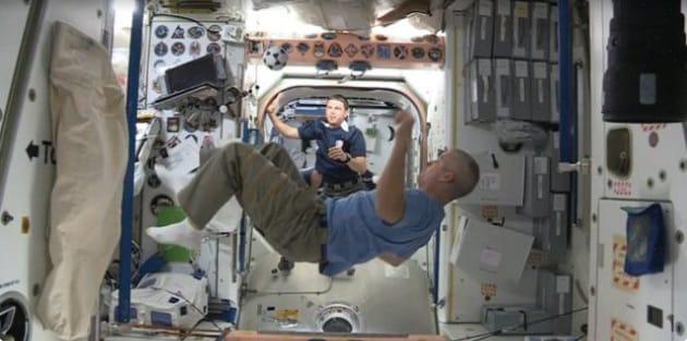 Mondiali 2014, il calcio d'inizio è sulla ISS