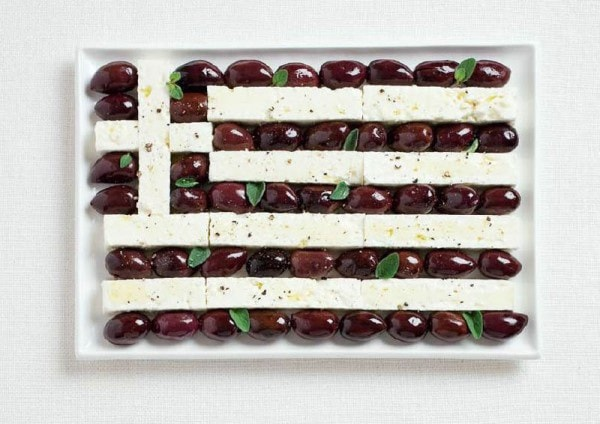 6greece-flag-made-from-food