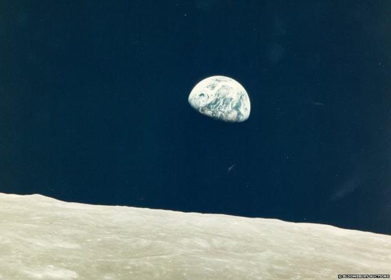 Luna e Terra, Apollo 8, Nasa, William Anders