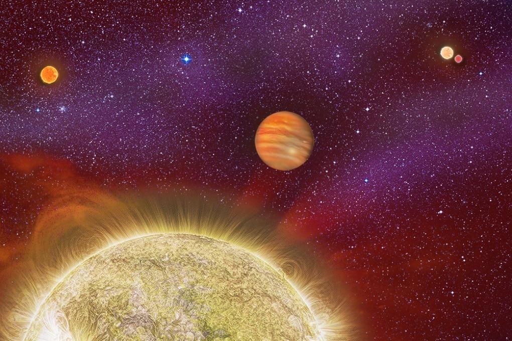 Quattro stelle per un pianeta