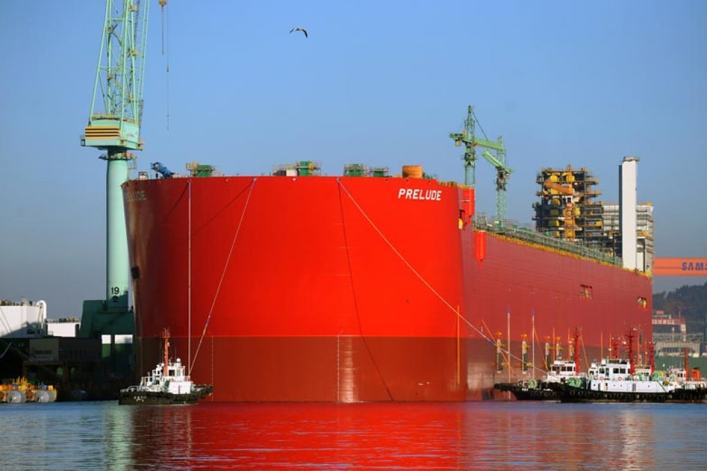 La più grande piattaforma per l'estrazione di gas naturale