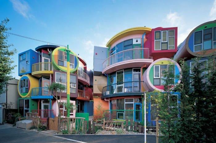Gli edifici pi colorati del mondo - Case colorate interni ...