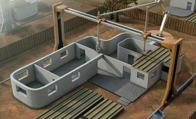 Contour Crafting: la casa me la stampo in 3D
