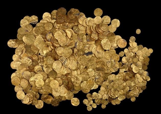 Il tesoro di Cesarea e le altre foto del mese
