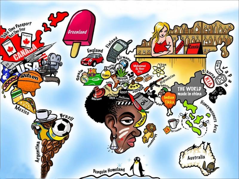 40 carte geografiche che non vi hanno fatto vedere a - Mappa dell inghilterra per i bambini ...