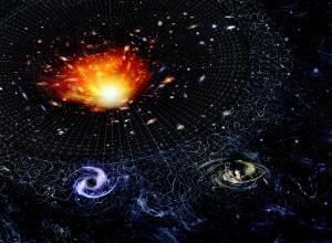 All'inizio l'universo era molto più piccolo e affollato.