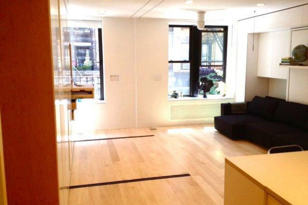 Otto stanze in 37 metri quadrati: il loft trasformista