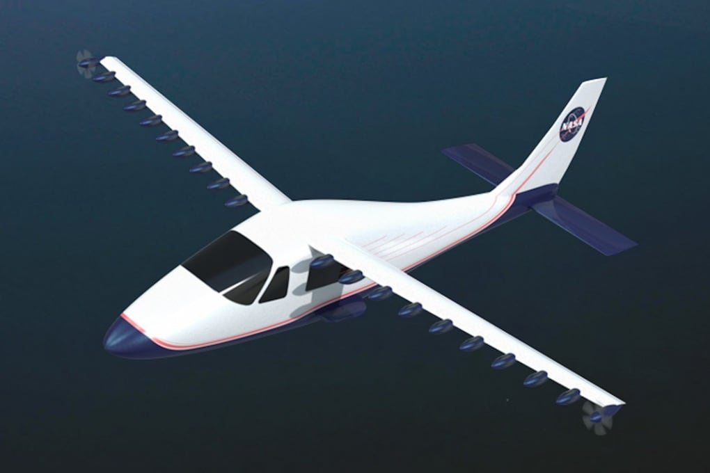 L'aereo elettrico della Nasa