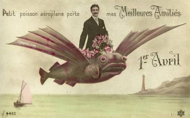 Da dove nasce il pesce d aprile?