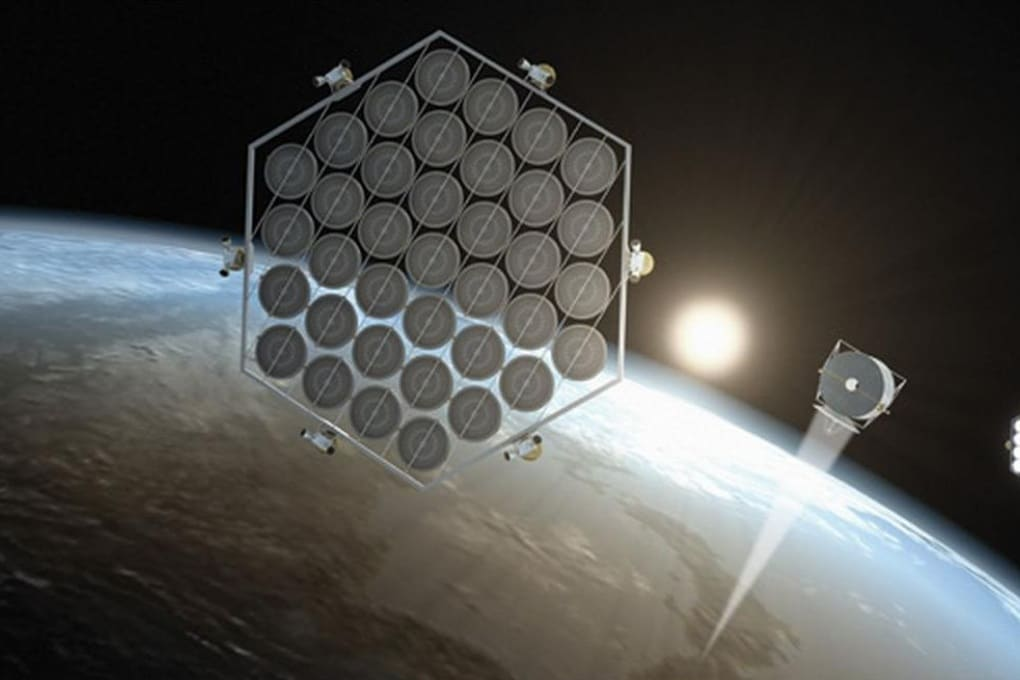 Come funziona l'impianto fotovoltaico spaziale
