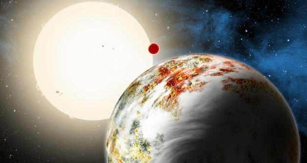 Kepler-10c, il gigante roccioso pesante come 17 Terre