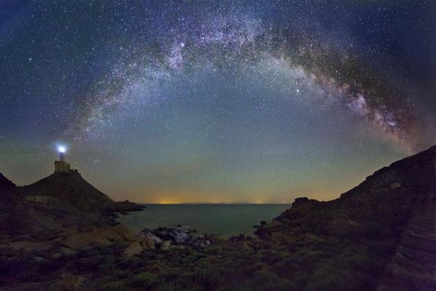 I cieli stellati di Sardegna nelle foto di Serra Tore