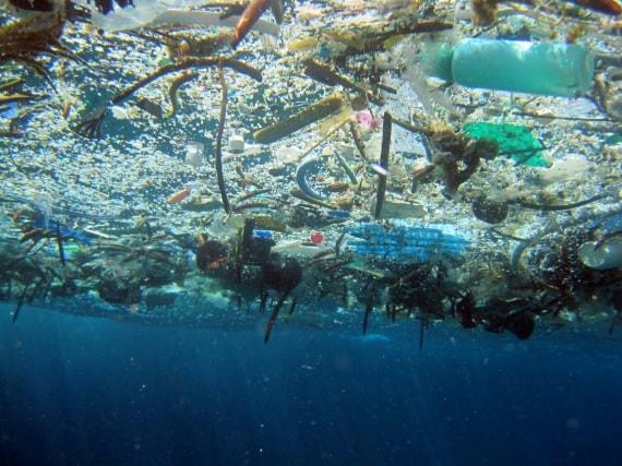garbage patch: la plastica che finisce in mare