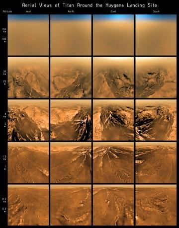 Le 10 più importanti scoperte scientifiche su Titano fatte dalla sonda Huygens