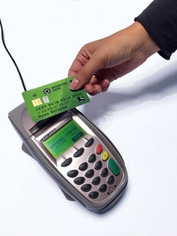Pagamenti in punta di dita
