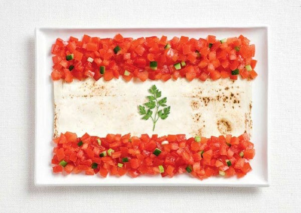 10lebanon-flag-made-from-food